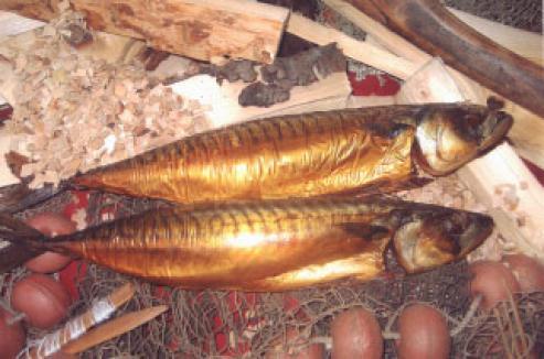 Ambachtelijk Gerookte Makreel Groot